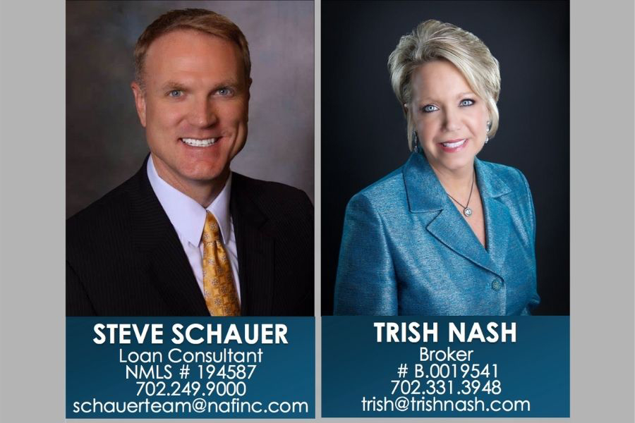 Steve Schauer and Trish Nash